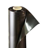 Пленка полиэтиленовая черная 80 мкм ширина 3 м / рукав 1,5 м (100 м)